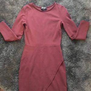 Nasty Gal long sleeved dress